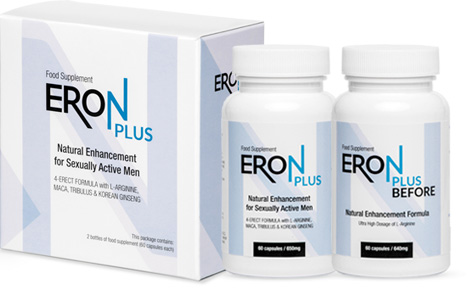 ERON PLUS – don't worry about how you go to bed anymore! With ERON PLUS sex will always be long and wonderful!